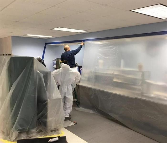 Commercial Space Gets Mold Remediation After