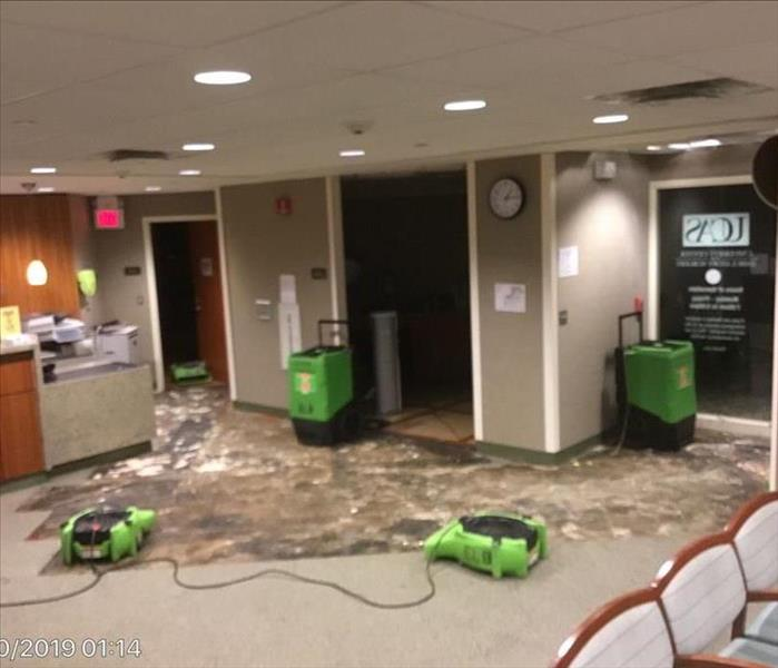 Doctor's Office Suffers Broken Pipe After